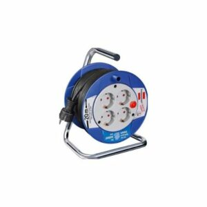 05. Brennenstuhl Compact Cable Reel White 20 m H05VV-F 3G1,0